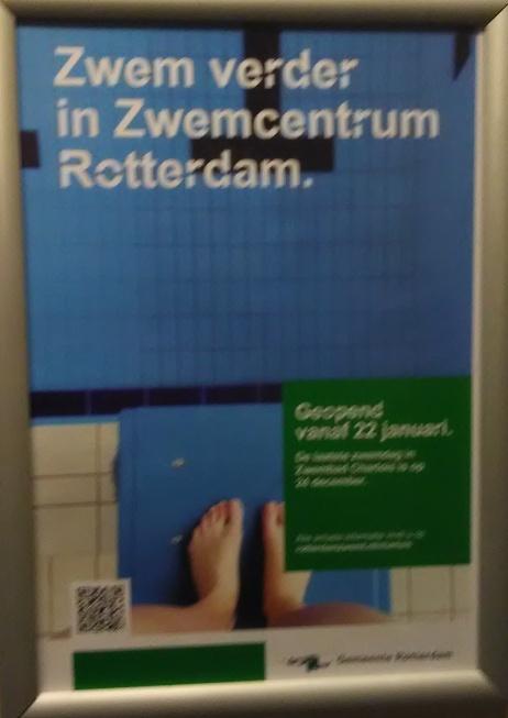 Zwem verder in Zwemcentrum Rotterdam