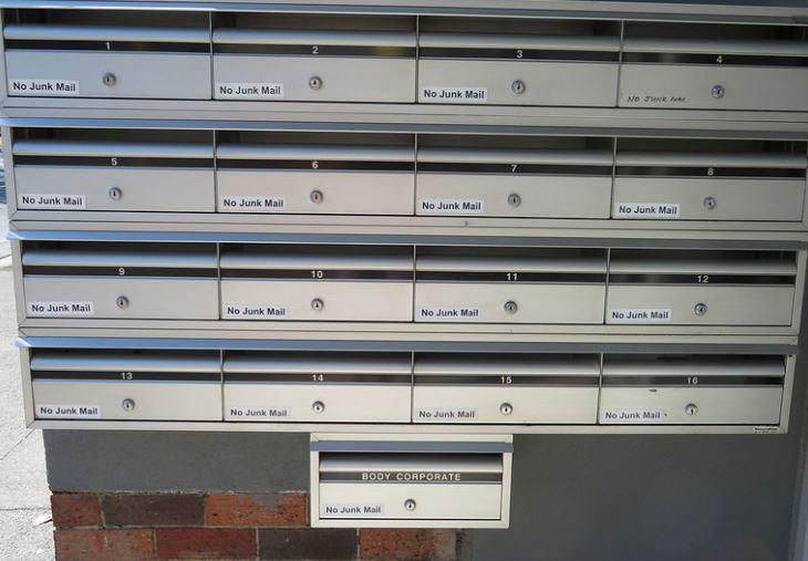 Heel veel keer No junk mail