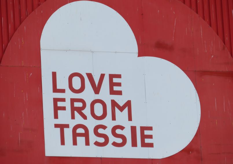Love from  Tassie